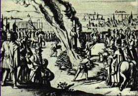 La ejecución de Juan Hus