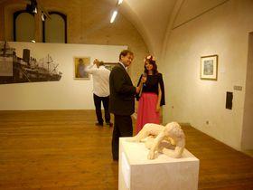 L'exposition 'Les pèlerins', photo: Magdalena Hrozínková