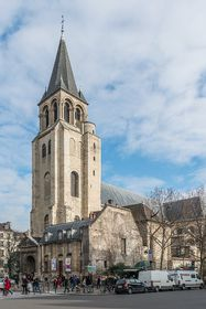 Abbaye de Saint-Germain-des-Prés, photo : DXR, Wikimedia CC BY-SA 3.0