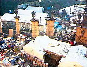BRD-Botschaft in Prag 1989