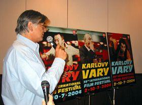 El presidente del festival Jiri Bartoska, foto: Elena Horalkova