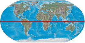 Äquator - rovník (Quelle: Cburnett, CC BY-SA 3.0)