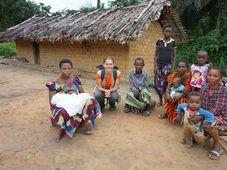 Klára Vráštilová au Congo, où elle a travaillé pour l'ONG tchèque People In Need, photo: Archives de Klára Vráštilová