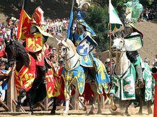 Foto: Presentación oficial de la fiesta Rytíři Pražského hradu