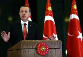 Турецкий президент Реджеп Тайип Эрдоган, Фото: ЧТК