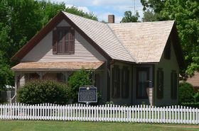 Willa Cather House in Red Cloud, Nebraska