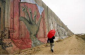 Le mur en Palestine, photo: Alexandra Novosseloff