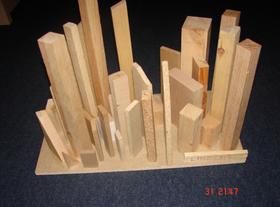 Segundo premio en obra gráfica. 'Praga de las cien torres'. Alex Davidsson, Islandia, foto: archivo de la competición 'Český Honza'