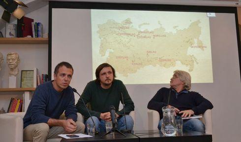 Адам Градилек, Ян Дворжак и Ярослав Форманек, фото: Ústav pro studium totalitních režimů