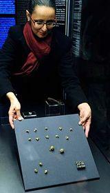 Curator Sylvie Novotná, photo: CTK