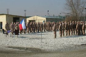 Czech unit at the NATO base at Kabul International Airport, photo: www.army.cz
