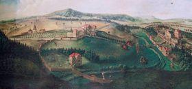 Вид на долину Кукса ок.1724 года (Фото: Ольга Васинкевич, Чешское радио - Радио Прага)