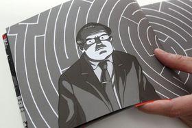 Illustration de Lucie Lomová, photo: Adam Kebrt, ČRo