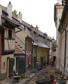 Golden Lane, photo: © Archiv ARÚP AV ČR
