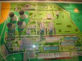 Model jaderné elektrárny Temelín