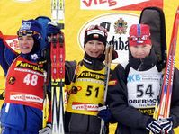 Sylvie Becaert, Jekaterina Dafovska and Katerina Holubcova, photo: CTK