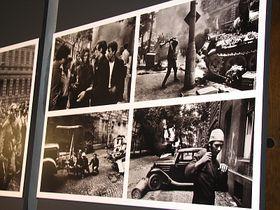 Koudelka's pictures of the Soviet-led invasion in 1968, photo: Štěpánka Budková