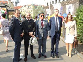 Embajadores Latinoamericanos, foto: Julia Rios