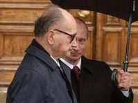 Le général polonais Wojciech Jaruzelski avec le président Vladimir Poutine, photo: CTK