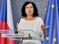 Věra Jourová, photo: ČTK/Vít Šimánek