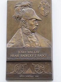 Gedenktafel für Josef Radetzky (Foto: Martina Schneibergová)
