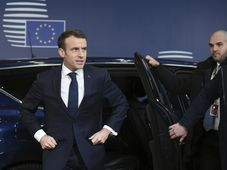 Emmanuel Macron, photo: John Thys, Pool Photo via AP