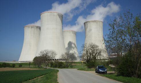Dukovany nuclear power station, photo: Jiří Sedláček, Wikimedia Commons, CC BY-SA 4.0