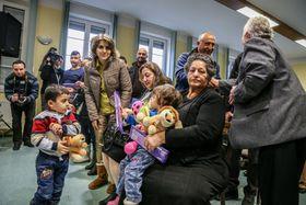 Las primeras familias de cristianos iraquíes en Smilovice, foto: ČTK