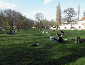Kampa park, photo: archive of Radio Prague