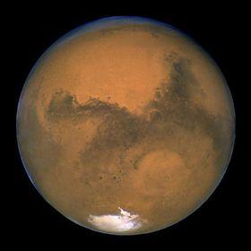 Mars, photo CTK