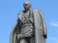 Памятник А. В. Колчаку в Иркутске, Фото: Kolchak1923, Wikimedia Commons, CC0 1.0