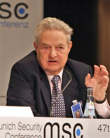 George Soros, photo: Harald Dettenborn, Wikimedia Commons, CC BY 3.0 DE
