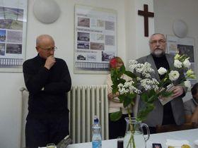 Tomáš Bísek, Otakar Keller, foto: Milena Štráfeldová