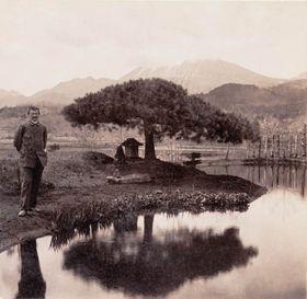 Autoportrét E. S. Vráze pořízený v Japonsku