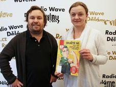 Jan Štěpánek and Nový prostor executive director Dagmar Kocmánková, photo: Barbora Linková