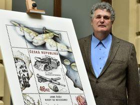 Author of the stamp Karel Zeman, photo: CTK