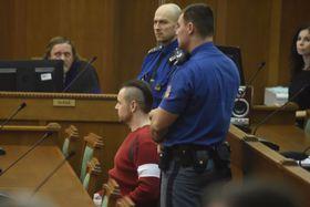 Петр Крамны в зале суда, Фото: ЧТК