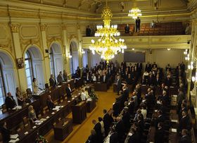 The Chamber of Deputies, photo: CTK