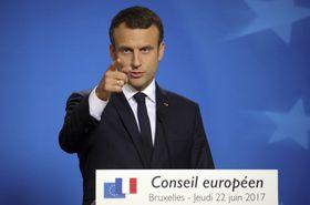 Президент Франции Эммануэль Макрон, Фото: ЧТК