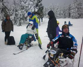 Na Černé hoře mohou sinstruktorem lyžovat ihandicapovaní sportovci, foto: Zdeňka Kuchyňová