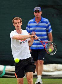 Andy Murray, Ivan Lendl, photo: CTK