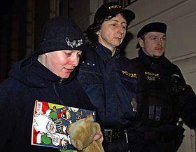 Barbora Škrlová (a la izquierda) Foto: CTK