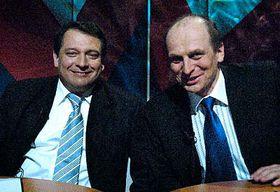 Jiří Paroubek (vlevo) aPetr Gandalovič, foto: ČTK