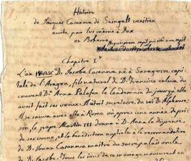 Le manuscrit de Giacomo Casanova