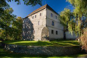 Водная крепость Есеник, фото: Vlastivědné muzeum Jesenicka