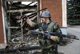Donetsk, Ucrania, en la actualidad (Foto: ČTK)