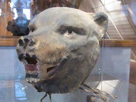 Bär Maske (Foto: Markéta Kachlíková)