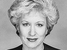 Kim Campbell - 19th Prime Minister of Canada, photo: Denise Grant (1993), source: National Archives of Canada