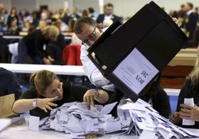 British early elections, photo: CTK