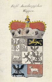 Knížecí erb rodu Auerspergů, zdroj: public domain
